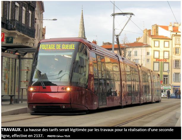 Le ticket de tram de la t2c 30 67 au 1er janvier 2018 for Le salon clermont ferrand